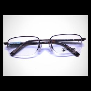 Other - New UNISEX Semi-Rimless Frame in Brown